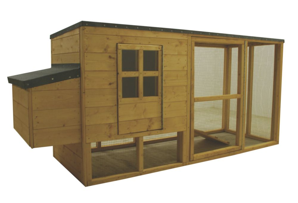 Image of Shire Timber Chicken Coop 2020 x 780 x 1040mm