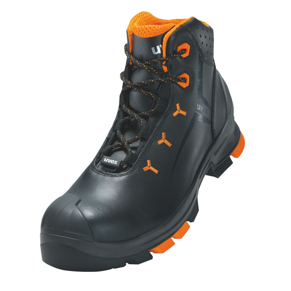 Image of Uvex 2 Safety Boots Black Size 9