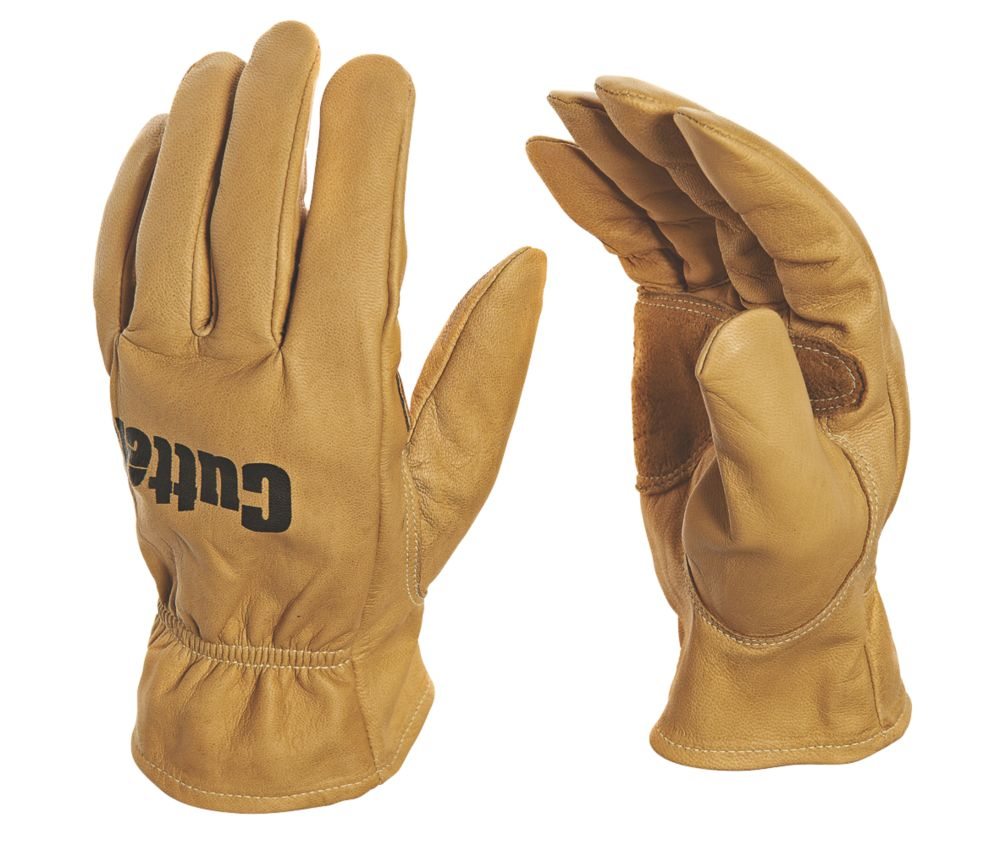 Image of Cutter CW300 Work Gloves Brown Large