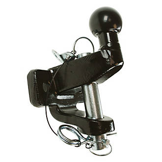 Image of Maypole 20 kg Black Ball & Pin Towing Hitch 179mm