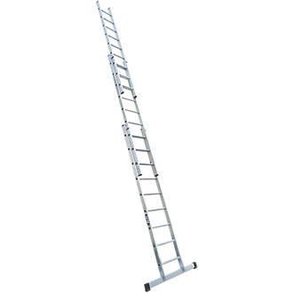 Image of Lyte 2-Section Aluminium Extension Ladders 6.24m