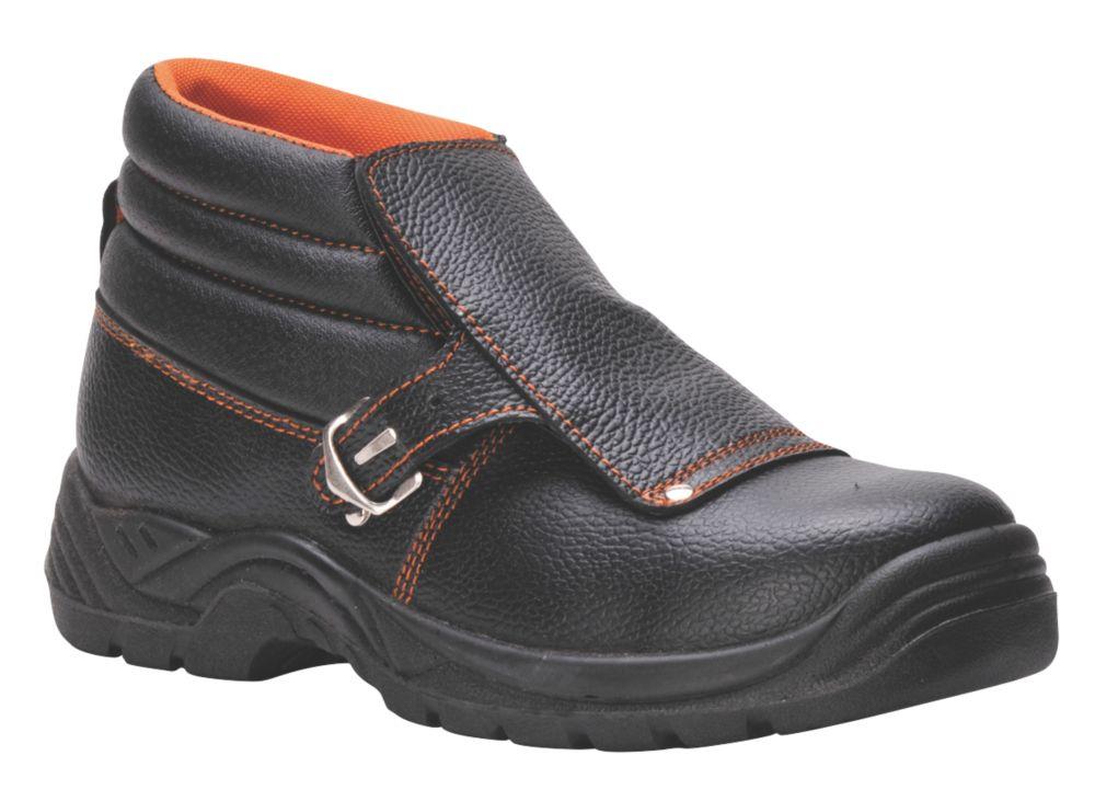 Image of Steelite FW07 Safety Welders Boots Black Size 12