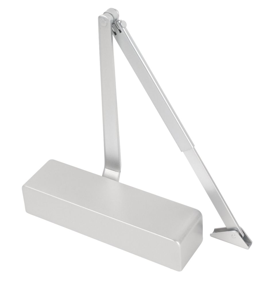 Image of Eclipse 28932 Overhead Door Closer Silver