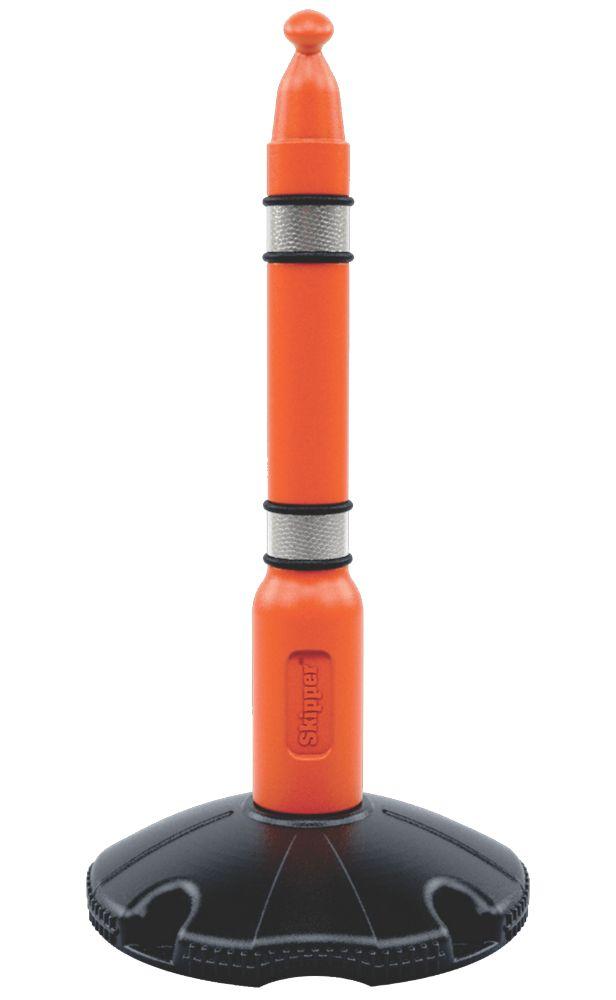 Image of Skipper Retractable Barrier Post & Base Orange