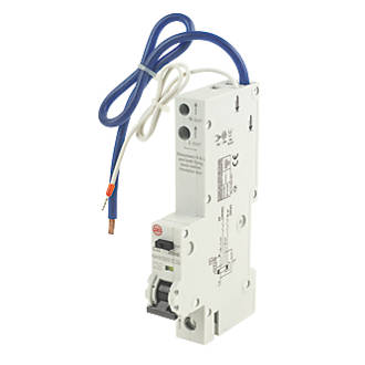 Image of Wylex 32A 30mA SP Type C RCBO