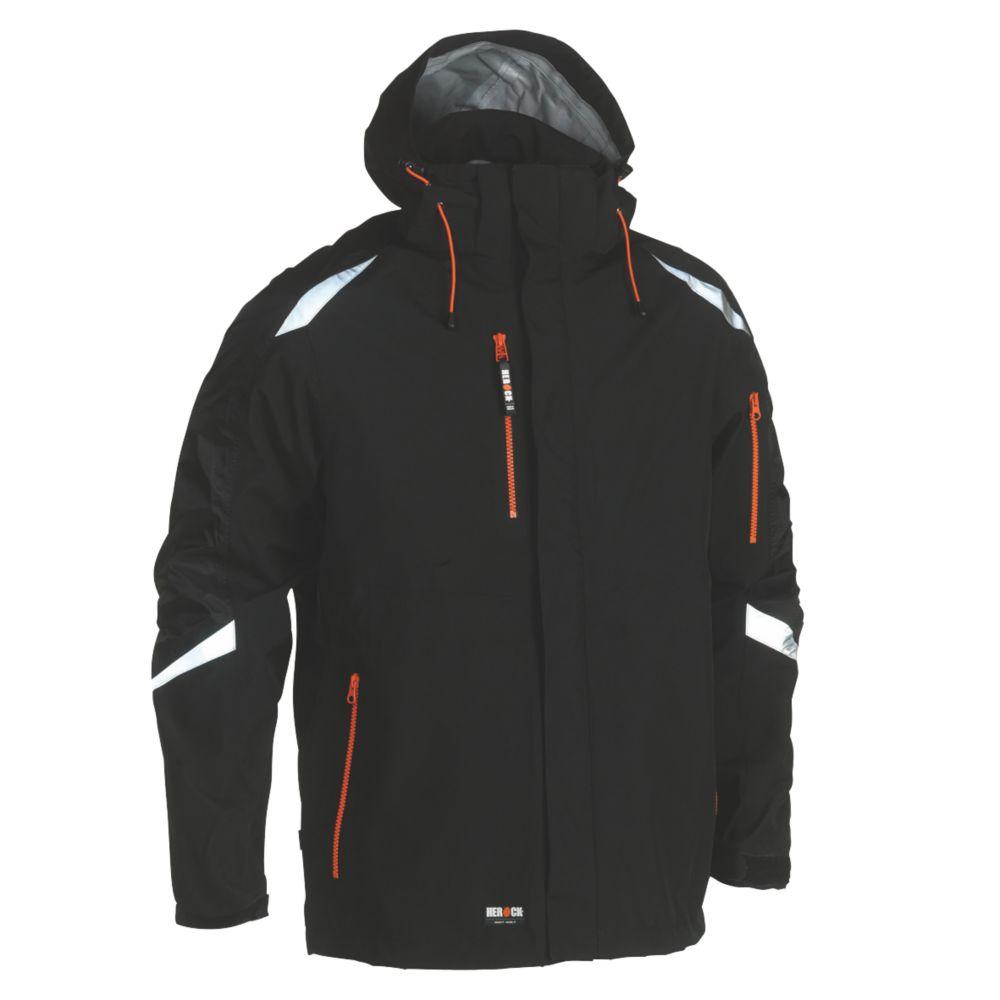 """Image of Herock Cumal Jacket Black Large 49"""" Chest"""