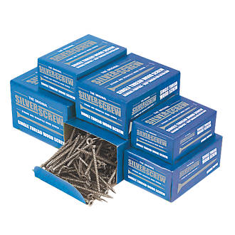Image of Silverscrew PZ Double-Countersunk Woodscrews Trade Pack 1400 Pcs