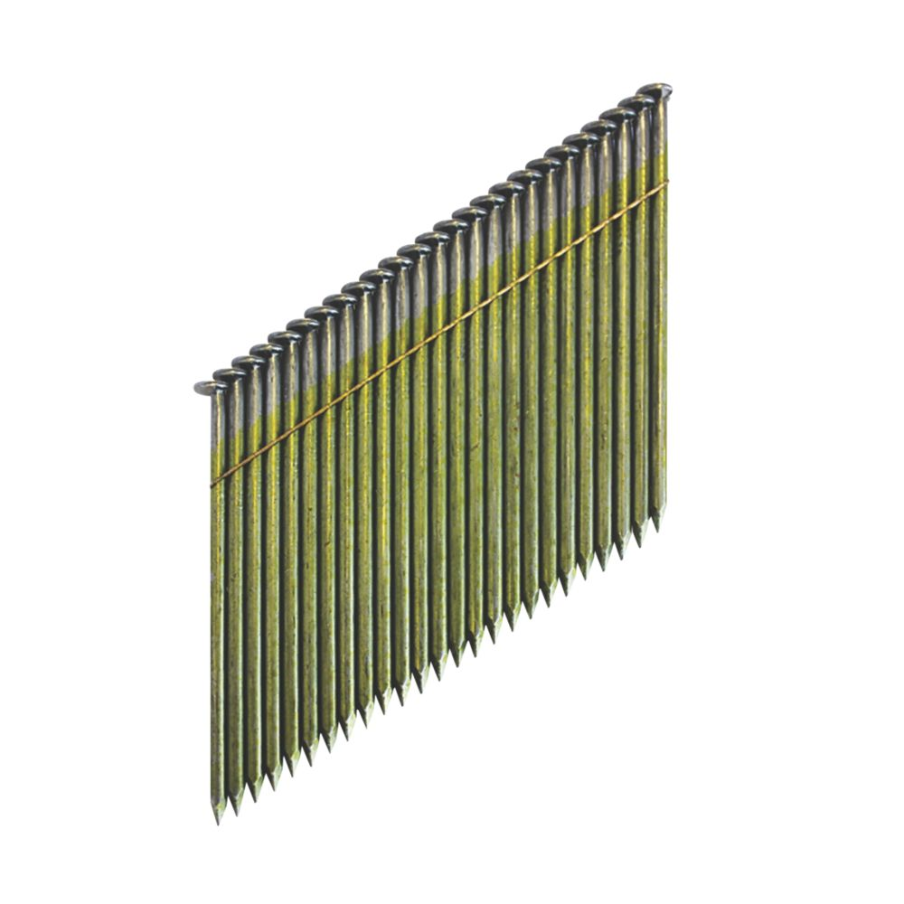 Image of DeWalt Galvanised Collated Framing Stick Nails 2.8 x 63mm 2200 Pack