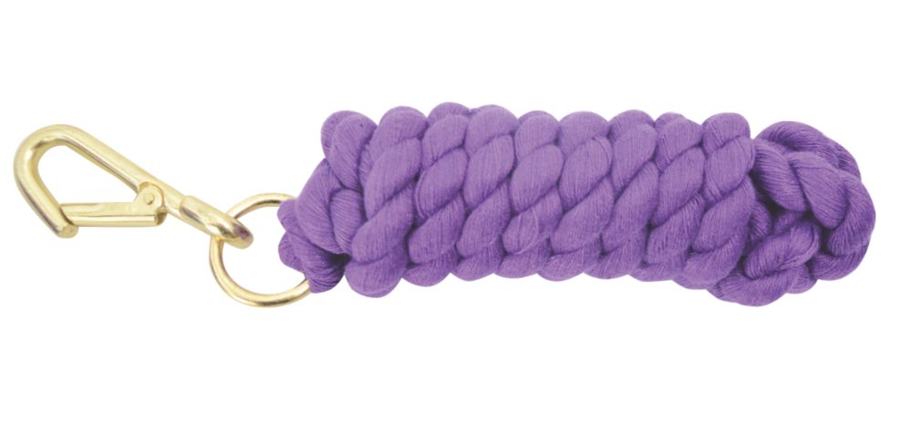 Image of Hy Lead Rope Purple 1.8m