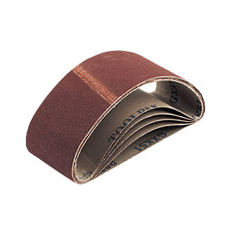 Image of Cloth Sanding Belts Unpunched 400 x 60mm 80 Grit 5 Pack
