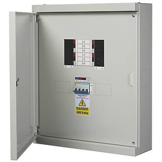 Image of Chint Nxdb 4-Way 125A TP & N Meter Ready 3-Phase Distribution Board