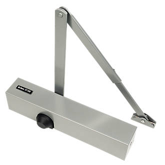 Image of Briton 2130B Overhead Door Closer Silver