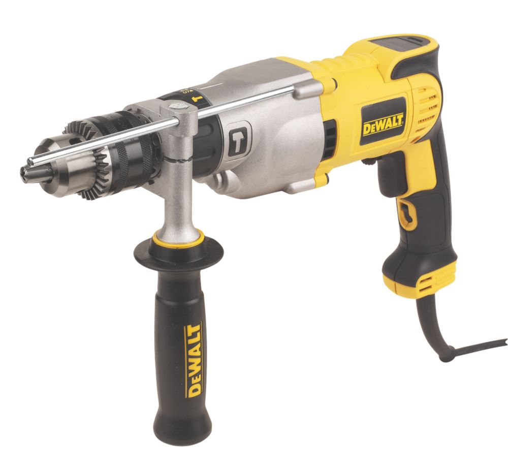 Image of DeWalt D21570K-LX 1300W Silver Bullet Diamond Core Drill 110V