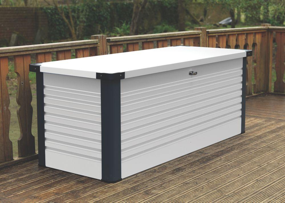 Image of Trimetals Patio Box 1350 x 785 x 725mm White