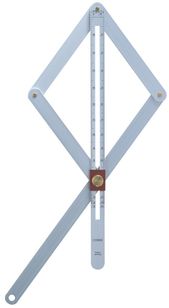 Image of Hultafors Adjustable Angle Finder Combi Square