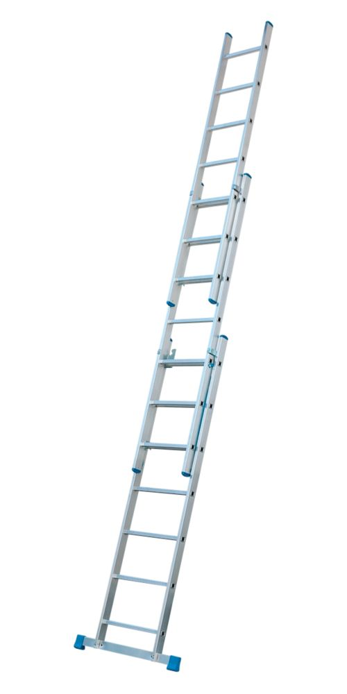 Image of C3A Aluminium Combination Ladder 3 x 7 Rungs 3.99m