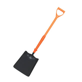 Image of Spear & Jackson Insulated Treaded Square Mouth Shovel