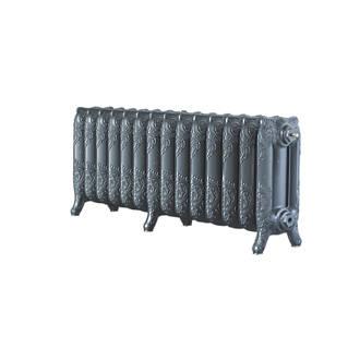 Image of Arroll 3-Column Cast Iron Radiator 470 x 1154mm Cast Grey
