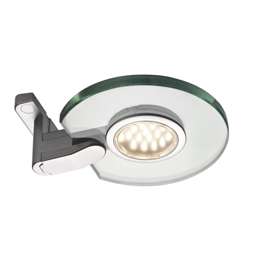Image of Sensio LED Cabinet Surface Lights Aluminium 2 Pack