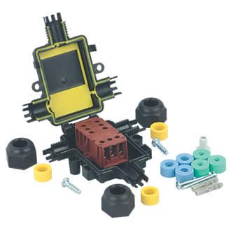 Image of Teebox IP67 Mini T-Junction with Tee Block