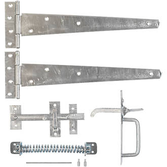 Image of Hardware Solutions Gate Latch Kit Steel