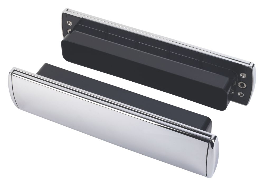 Image of Mila Letterbox Chrome 310 x 76mm