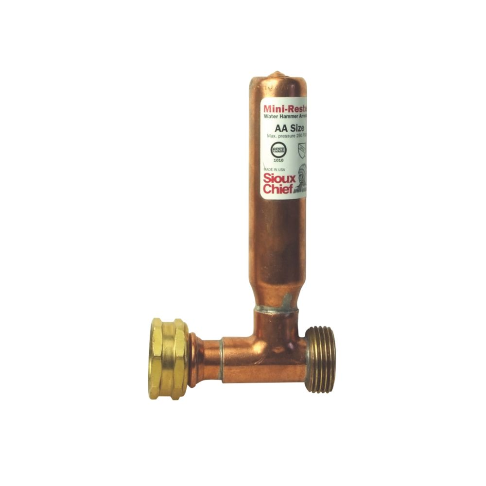 "Image of Thomas Dudley Ltd DW660-H Water Hammer Arrestor "" BSP Connection"