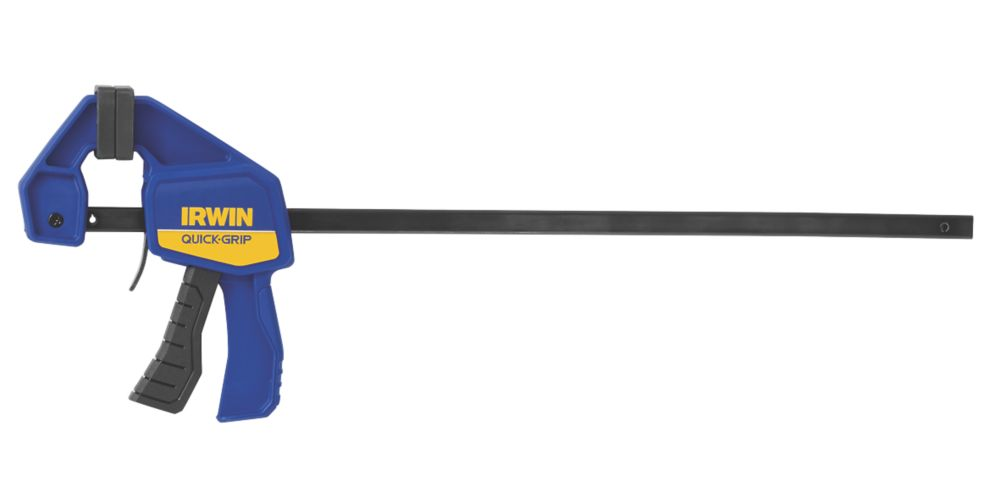 "Image of Irwin Quick-Grip 12"" Mini One-Handed Bar Clamp"