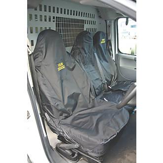 Image of Van Guard Universal Single & Double-Seat Covers Black 2 Pcs
