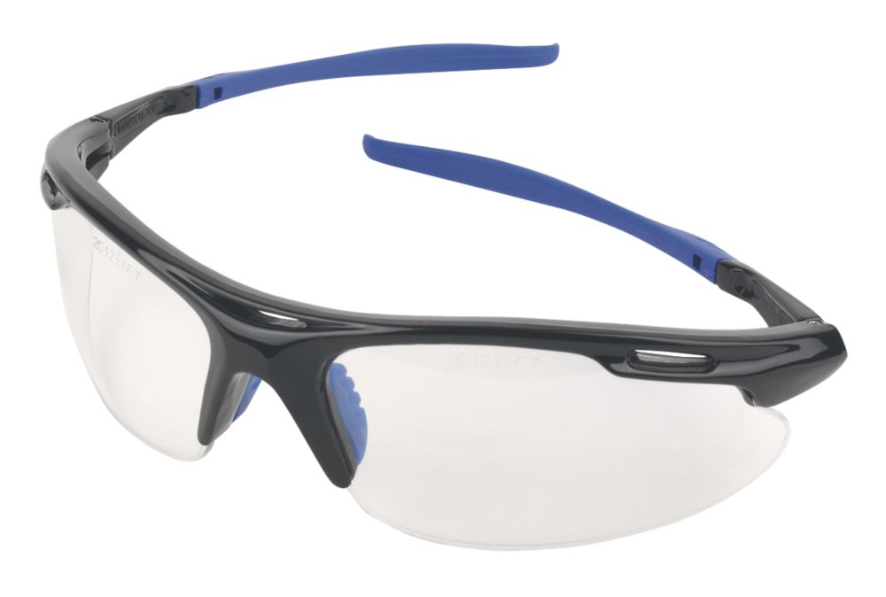 Image of Site 2103 Clear Lens Wraparound Safety Specs