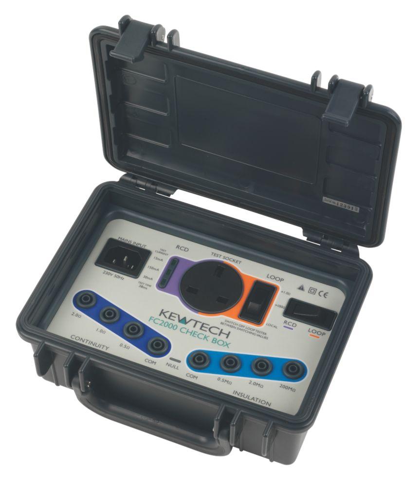 Image of Kewtech FC2000 Instrument Tester