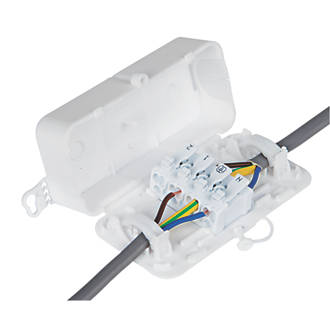 Image of Debox 2SL Screwless In-line Junction Box