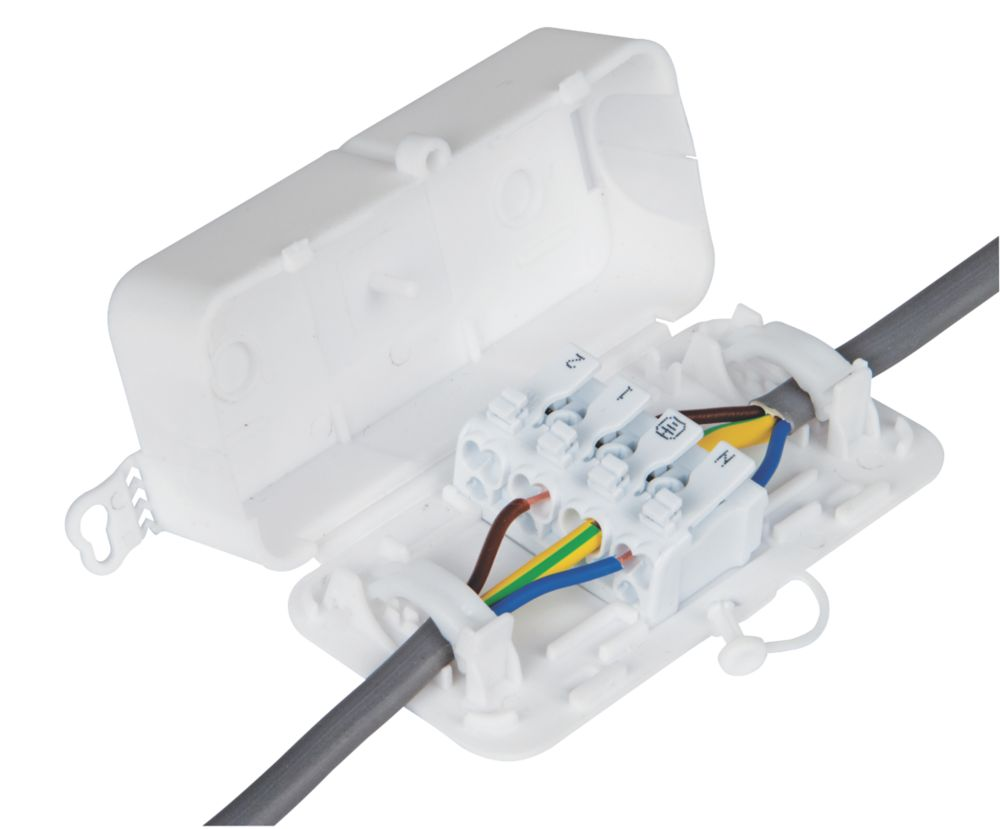 Image of Debox 2SL Screwless In-line Junction Box