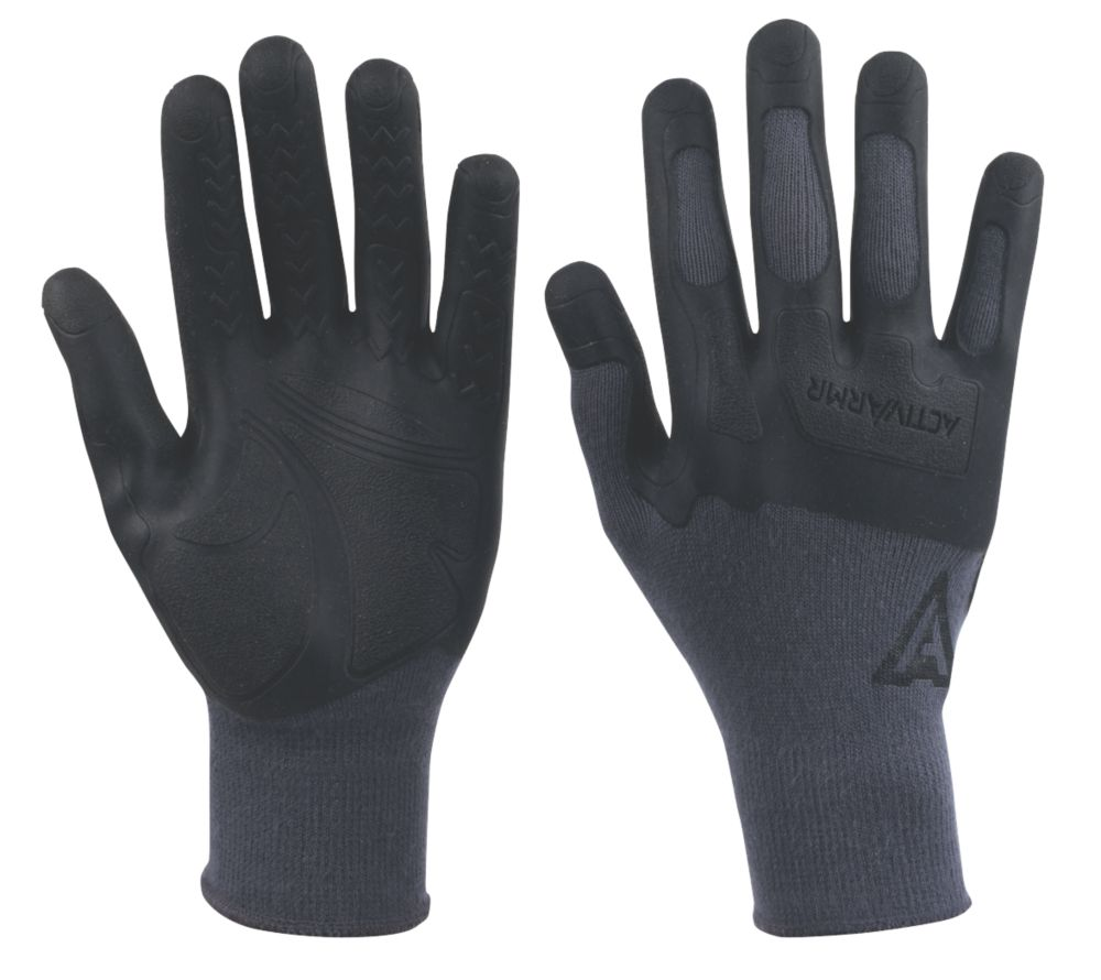 Image of Ansell Gloves Grey Large