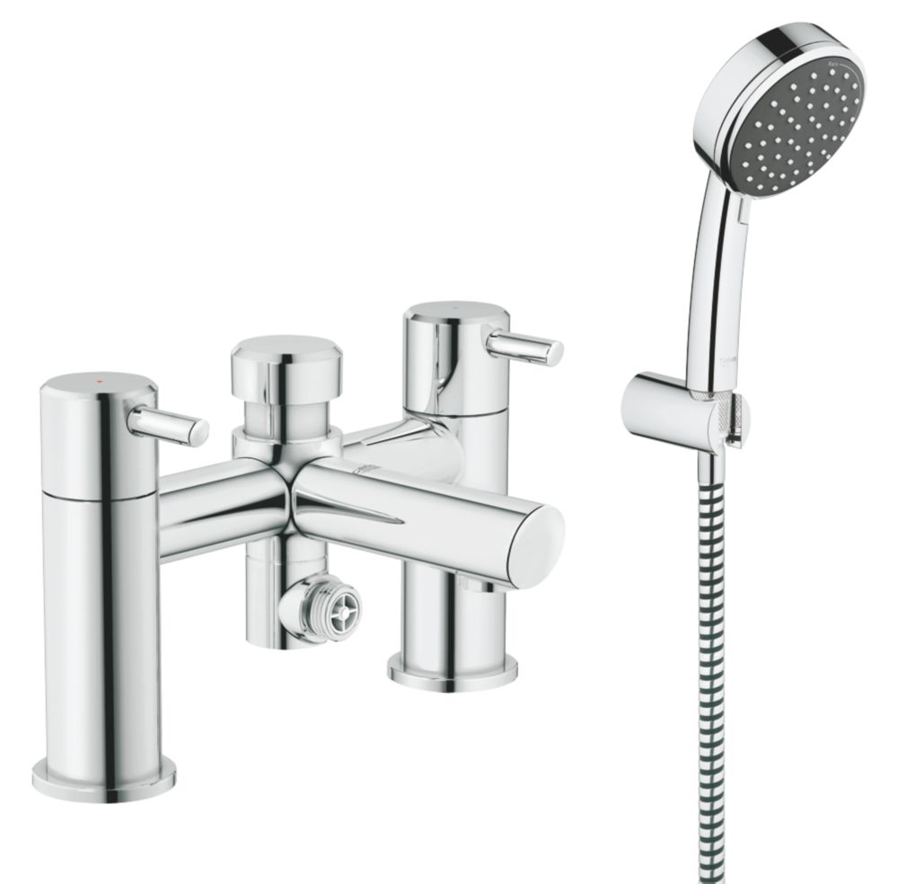Image of Grohe Feel Deck-Mounted Bath/Shower Mixer Tap