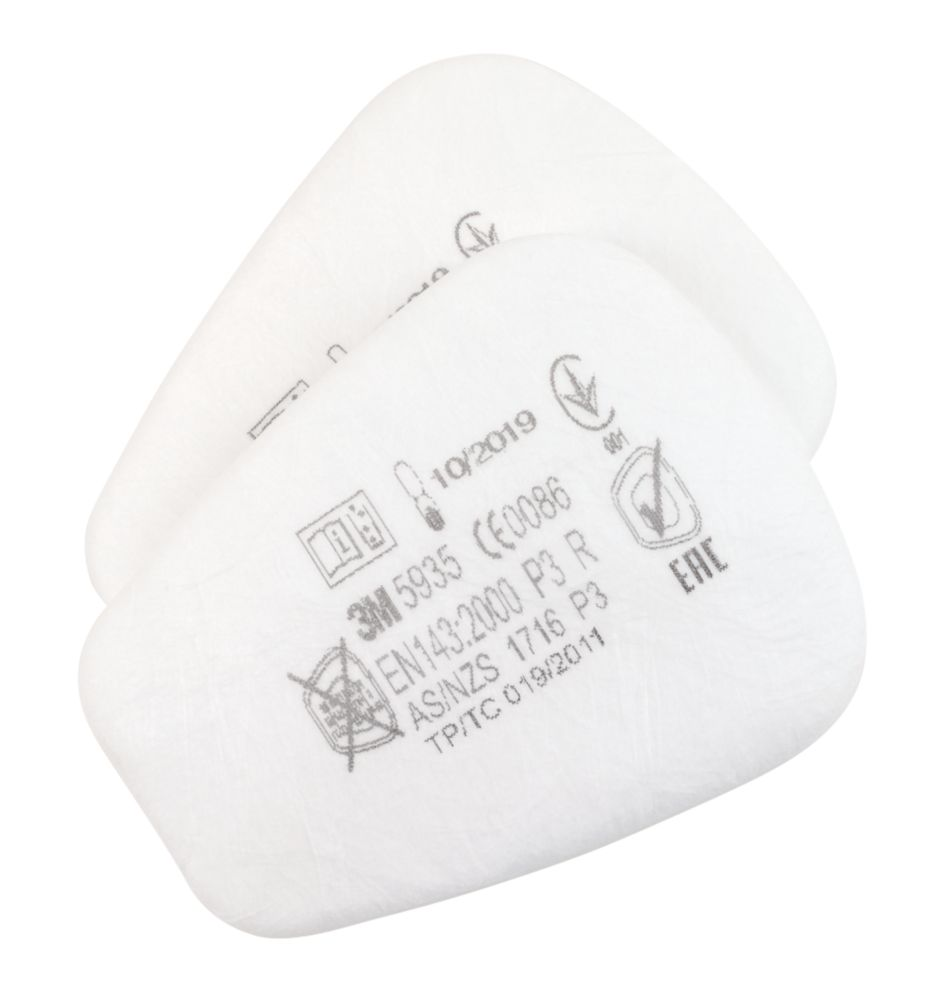 Image of 3M 5935 Particulate Filters P3R 2 Pack
