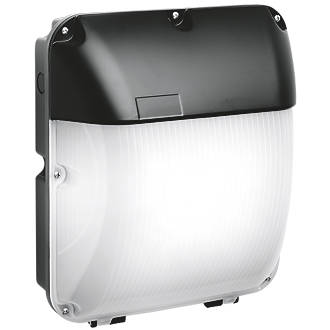 Image of Enlite EN-WP103EM/40 Maintained Emergency Curved LED Surface Mounted Bulkhead Black 30W
