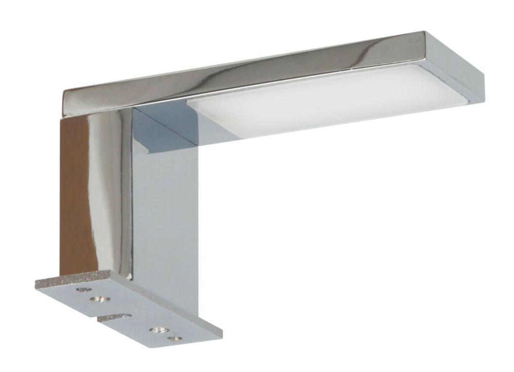 Bathroom Lights Screwfix ranex jesolo bathroom mirror light chrome 3.6w | led bathroom