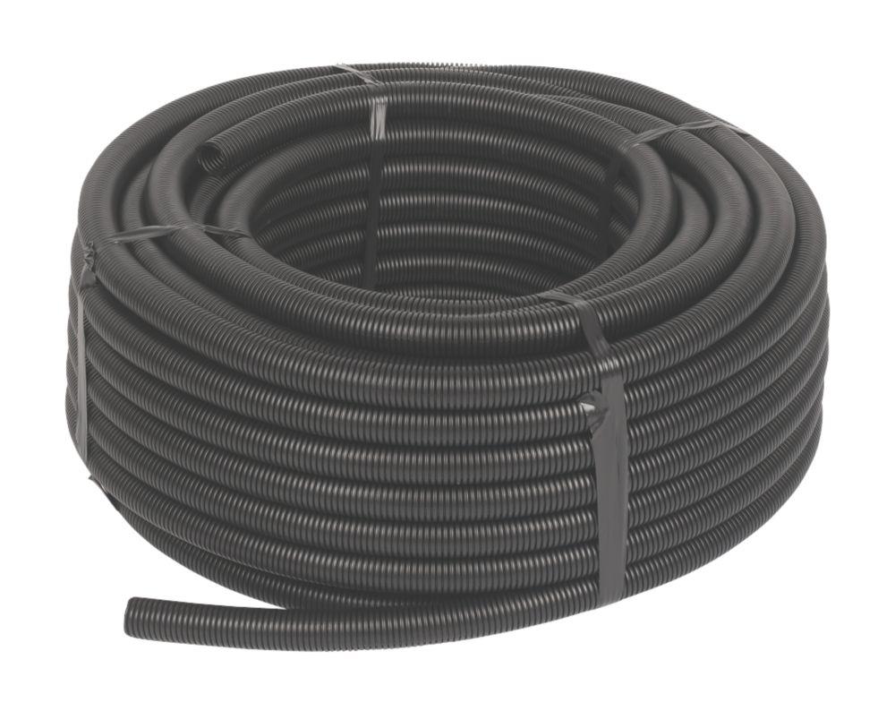 Image of JG Speedfit Black Conduit Pipe 22mm x 50m