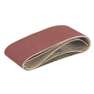 Image of Triton Alox Sanding Belts Unpunched 406 x 64mm 40 / 60 / 80 Grit 3 Pieces