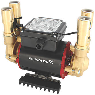 Image of Grundfos 96787466 Regenerative Twin Shower Pump 3.0bar