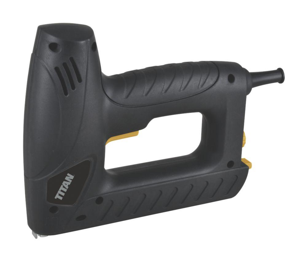 Image of Titan TTB515STP 15mm Corded Nailer / Stapler 240V