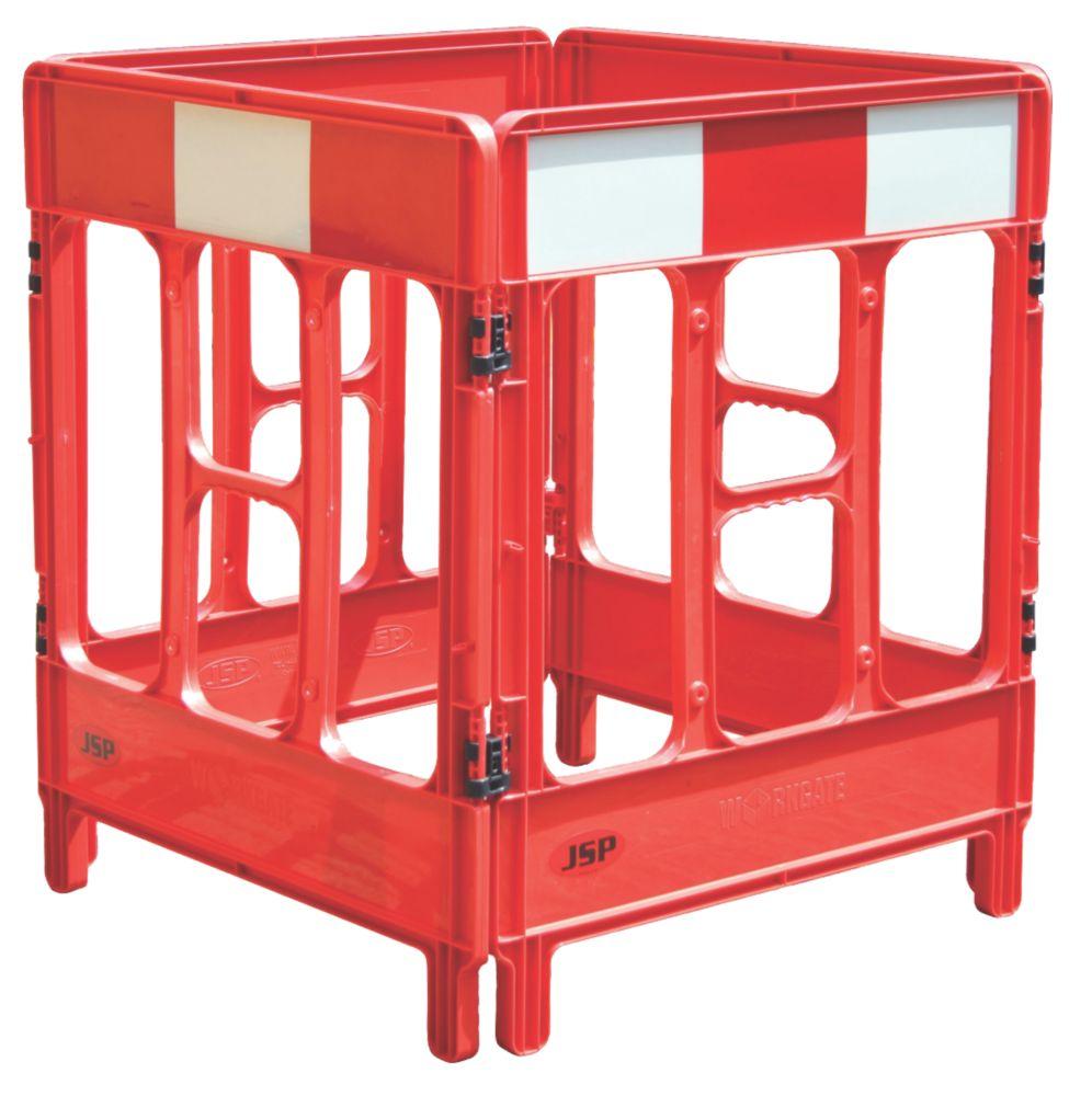 Image of JSP 4-Gate Workgate Barrier Red