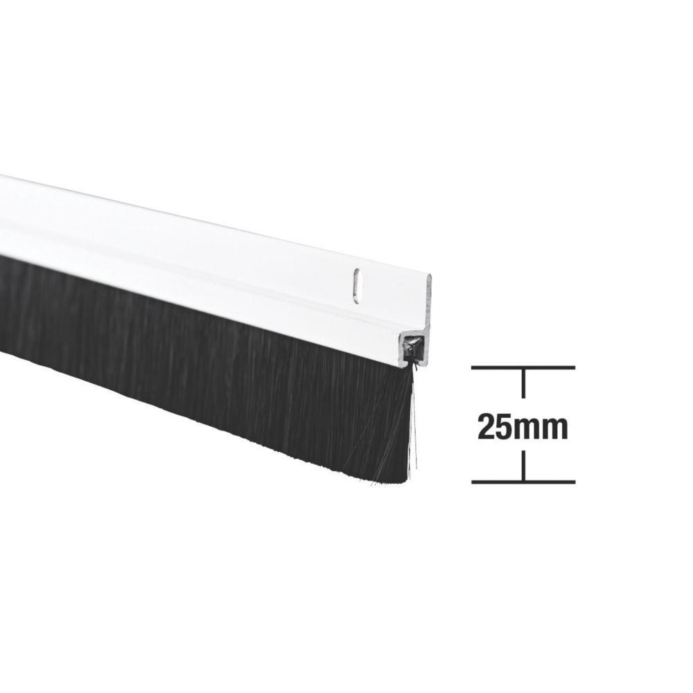 Image of Stormguard Heavy Duty Brush Seal White 0.91m
