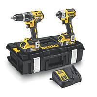DeWalt DCK266P2-GB 18V 5.0Ah Li-Ion XR Brushless Cordless Combi Drill & Impact Driver Twin Pack