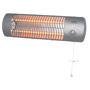 Mh 10 1 Wall Mounted Quartz Heater 1200w Heaters