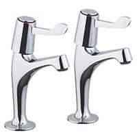Pillar High Neck Sink Taps
