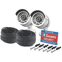 Swann SWPRO-T858PK2 HD Bullet CCTV Cameras 2 Pack