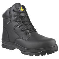 Amblers FS006C Metal-Free Safety Boots Black Size 4