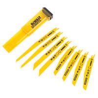 DeWalt DT2442-QZ Reciprocating Saw Blade Set 245mm 8 Pieces